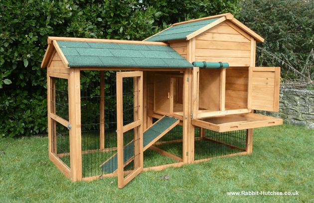 Balmoral rabbit hutch for Simple rabbit hutch plans
