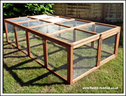 Rabbit Hutches | Large Folding Run