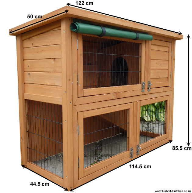 Rabbit hutch Measurements
