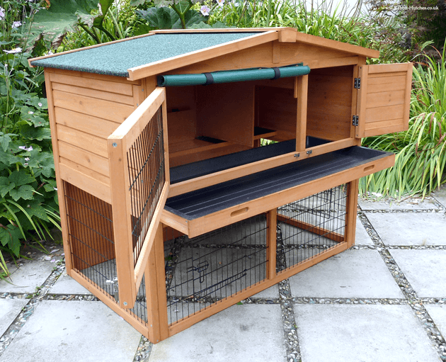 perfect rabbit hutch