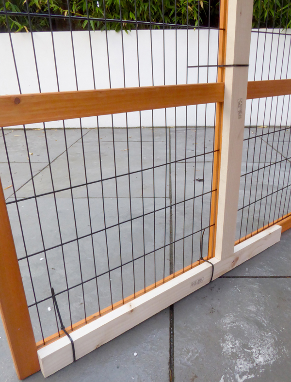 Chew resistant rabbit hutch