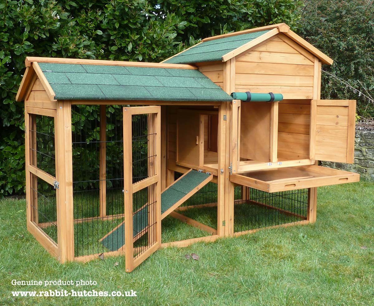 hutches hutch new com large rabbit garden hendryx amazon outdoor prevue dp