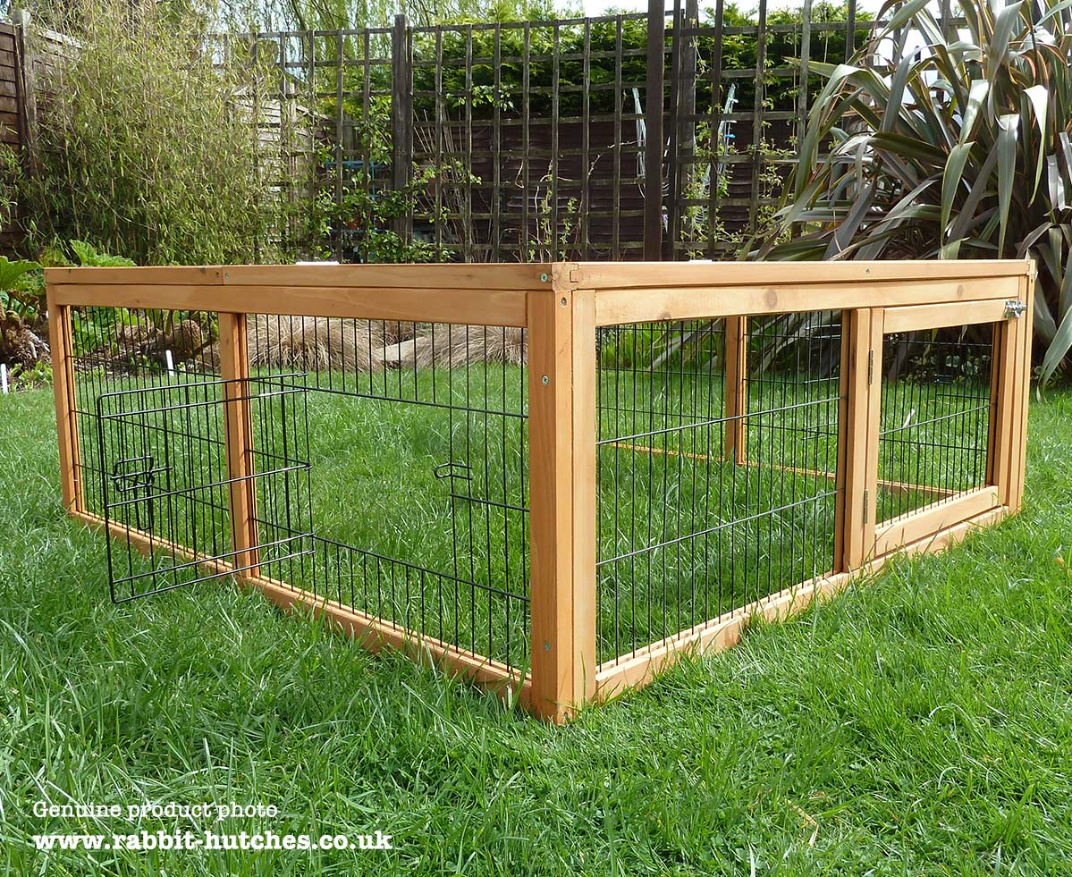 Add on run for windsor rabbit hutch